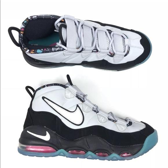 New Nike Air Max Uptempo 96 Spurs Basketball Shoe 82e0ba436